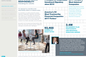 T. Rowe Price Releases 2017 Corporate Social Responsibility Update Image