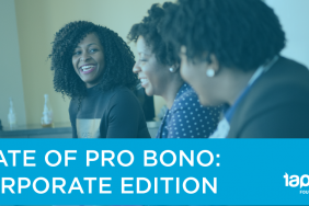 Taproot Foundation Releases State of Pro Bono: Corporate Edition Image