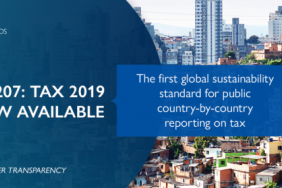 First Global Standard for Tax Transparency Image