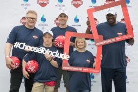 Holland America Line President Orlando Ashford Teams Up with Actress Lauren Potter for Special Olympics Unified Sports Challenge Image