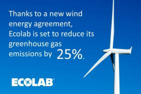 Ecolab Investing in Renewable Power Project With Clearway Energy Group Image