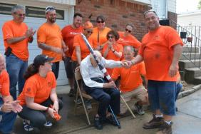 Island Park Resident Helps Brings the Music Back to WWII Veteran's Home Image