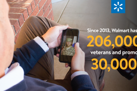 Walmart Hires More Than 206,000 U.S. Military Veterans and Promotes More Than 30,000 Since the Launch of the Veterans Welcome Home Commitment Image