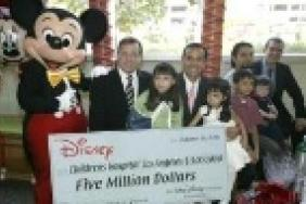The Walt Disney Company Foundation Gives $5 Million Gift to Childrens Hospital Los Angeles Image
