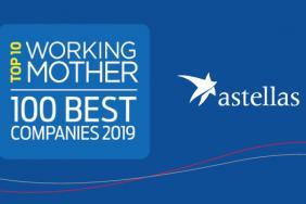 Astellas Ranks in Top 10 of Working Mother Best Companies List Image