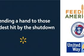 Walmart Commits Funds to Feeding America, the Coast Guard Foundation and the United Way to Assist Those Affected by the Government Shutdown Image