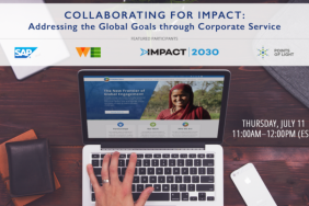 WEBINAR: Hear How SAP, WE Communications, & Leading Nonprofits Collaborate for Impact, July 11 Image