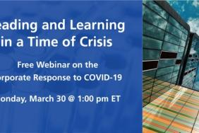 Leading and Learning in a Time of Crisis: Free Webinar on the Corporate Response to COVID-19 Image