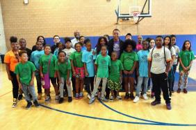 Academy Award-Winning Actor, Cuba Gooding Jr., Visits With Youth at Local Boys & Girls Club of America to Celebrate the Maytag Dependable Leader Awards Image