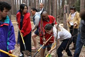 Students Transform 10-Acres of Forest & Highlight Forest Protection Image