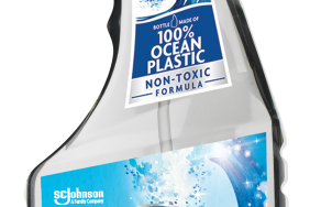 SC Johnson to Launch First-Ever 100% Recycled Ocean Plastic Bottle in a Major Home Cleaning Brand Image