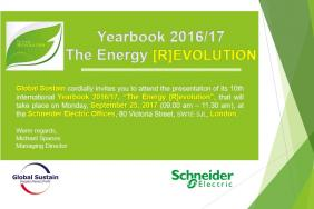Global Sustain Presents the Yearbook 2016/17 in London Image