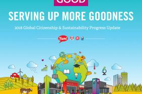 Yum! Brands 2018 Global Citizenship & Sustainability Progress Update Highlights Company's Commitment to Socially Responsible Growth   Image