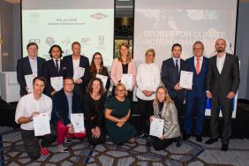 IOC and Dow Reward 10 International Sports Federations for Tangible Climate Action Image