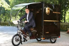 First UPS U.S. Delivery eBike Debuts In Portland, Ore. Image
