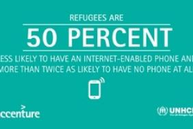 UNHCR, Accenture Study Finds Internet, Mobile Connectivity a Lifeline for Refugees Image