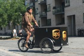 UPS Reduces Emissions and Congestion in Denmark and Sweden With New Zero Emission eBikes Image