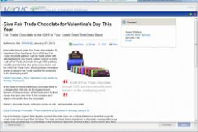 Give Fair Trade Chocolate for Valentine's Day This Year Image