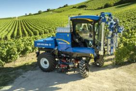 New Holland Agriculture Awarded SITEVI Gold Medal Gold Medal for Sustainable Innovations in Grape Harvesting: Making Operators Lives Even Easier Image