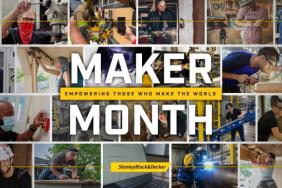 Stanley Black & Decker Celebrates Third Annual Maker Month Focused on Empowering Skilled Workers & Tradespeople Image.