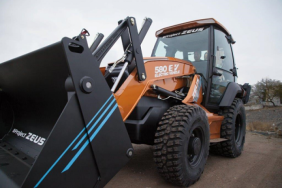 National Grid, NYSEG/RG&E to Pioneer Use of New Electric Backhoe Loader Image