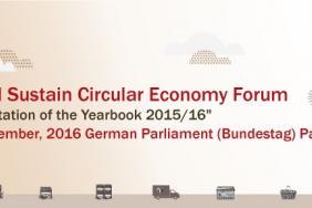 Global Sustain Circular Economy Forum in Berlin on 8/11 Image