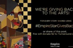 Fox Teams up With Kennedy Center's Turnaround Arts for #EmpireStarGivesBack Social Campaign Image