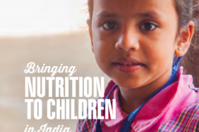 Bringing Nutrition to Children in India Image