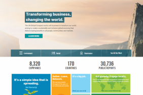UN Global Compact Unveils New Official Website Aiming to Spur Corporate Sustainability Action Image