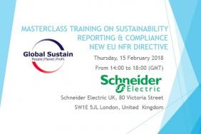 Global Sustain Group to Deliver a Masterclass Training on Sustainability Reporting & Compliance (New EU NFR Directive) Image