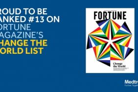Fortune Magazine Names Medtronic to Its Annual 'Change the World' List Image