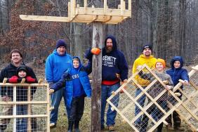 Consumers Energy, Cub Scouts Build Platform to Give Osprey Safe Place to Nest Image