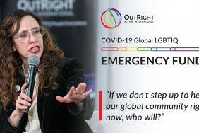 OutRight Launches COVID-19 LGBTIQ Global Emergency Fund Image
