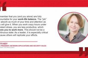 Keysight Technologies Celebrates Patti Key, Vice President of Network Applications and Security Sales for Women's History Month Image