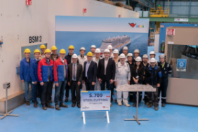 AIDA Cruises: Start of Construction for the Second LNG Cruise Ship at the Meyer Werft Shipyard in Papenburg Image