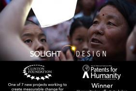 Solight Design Wins USPTO Award & Recognized by Clinton's CGI Image