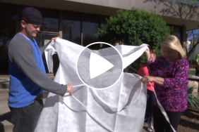 Local Mohawk Industries Team Makes Gowns Amid Coronavirus Pandemic Image