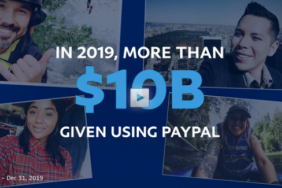 PayPal Processed Record $10 Billion in Charitable Donations in 2019 Image