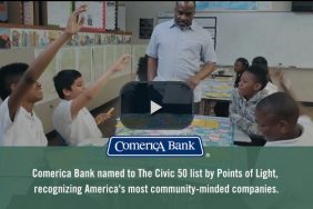 Comerica Bank Named One of the 50 Most Community-Minded Companies in the United States Image