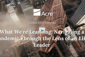 What We're Learning: Navigating a Pandemic Through the Lens of an HSE Leader Image