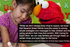 Sesame Workshop Launches 'Caring for Each Other' Initiative to Help Parents and Children During Coronavirus Pandemic Image