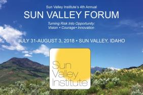 Global Leaders and Innovators Arrive in Sun Valley for the Fourth Annual Sun Valley Forum on Resilience  July 31-August 3, 2018 at Ketchum's Limelight Hotel Image