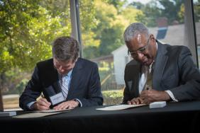City of Birmingham Joins Trane in Launching Energy Saving Upgrades at Sustainability Commitment Signing Ceremony Image