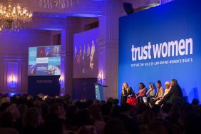 Swarovski Supports Trust Women Conference to Advance Women's Rights and Tackle Slavery Image