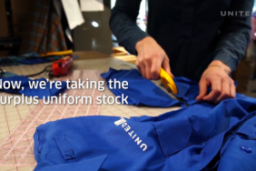 United Turns Old Uniforms Into Masks for Employees Image