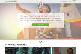 Giving Compass Releases New Experience Based on Learning from 25,000+ Beta Visitors Image