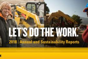 Caterpillar Reports Progress on Enterprise Strategy, Sustainability Image
