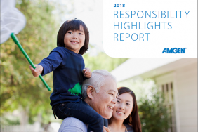 Our Commitment to Patients and Beyond: Amgen 2018 Responsibility Highlights Report Image