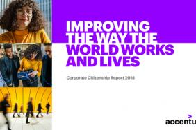 Accenture's Corporate Citizenship Report 2018: Improving the Way the World Works and Lives Image