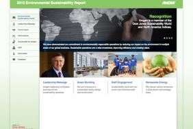 Amgen's 2015 Environmental Sustainability Report is Key Element of Company's Broad Commitment to Social Responsibility Image